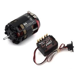 Tekin TT2808  RS Pro Black Sensored Brushless ESC/Gen4 Spec R Motor Combo (17.5T)