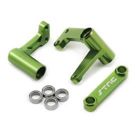 STRC SPTST3743XG  Green Aluminum Steering Bellcrank System w/Bearings Bandit  Rustler  Stampede  Slash