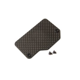 TLR / Team Losi TLR331048  Carbon Electronics Mounting Plate: 22X-4