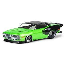 Proline Racing PRO3550-00  1972 Plymouth Barracuda SC Drag Racing Clear Body