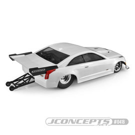 """J Concepts JCO0418  2019 Cadillac ATS-V, Street Eliminator Clear Body for 10.75"""" Wide SCT"""