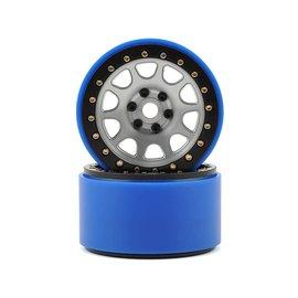 SSD SSD00154  2.2 D Hole PL Beadlock Wheels (Silver) (2)