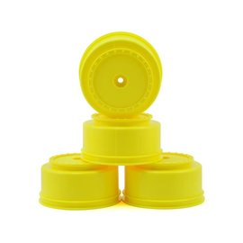 "DE Racing DERBS4LY  12mm Hex ""Borrego"" SC Wheels(Yellow)(4)(22SCT/TEN-SCTE)"