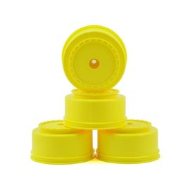 "DE Racing DERBS4UY  12mm Hex ""Borrego"" SC Wheels (Yellow) (4) (SC6/Slash/Blitz)"