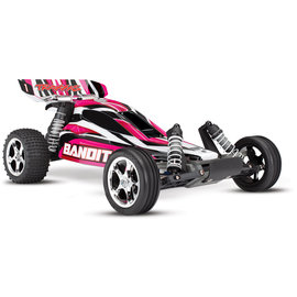 Traxxas TRA24054-1  PinkX Bandit 1/10 Extreme Sports Buggy RTR w/ Battery & Charger
