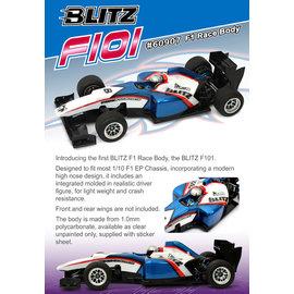 BLITZ BLI60907  F101 Race Body F1