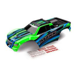 Traxxas TRA8911G  Green Painted Maxx® Body