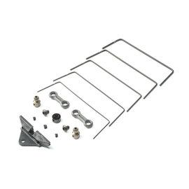 TLR / Team Losi TLR334055  Front Sway Bar Set: 22 5.0