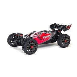 Arrma ARA4306V3  Red 1/8 TYPHON 4X4 V3 3S BLX Brushless Buggy RTR