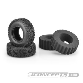 "J Concepts JCO3114-02  Bounty Hunters Scale Country Class 1 1.9"" Crawler Tires (2) (Green)"