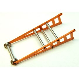 STRC SPTST3678WO  Orange Aluminum CNC Machined Adjustable Wheelie Bar Kit Slash