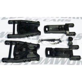 Custom Works R/C CSW3244  Adjustable Toe A-Arm (Wide)