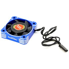 Power Hobby PHBPHF4040BLUE  Blue Aluminum 40x40x10mm Tornado High Speed Fan