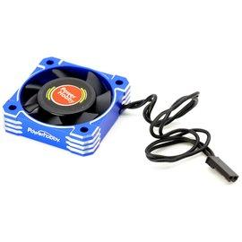 Power Hobby PHBPHF4040BLUE  Blue Aluminum 40x40x10mm Tornado High Speed Fan