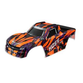 Traxxas TRA9011A  Orange Pre-Painted Hoss™ 4X4 VXL Body
