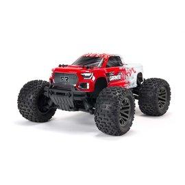 Arrma ARA4302V3T2  Red & White 1/10 GRANITE 4X4 V3 3S BLX Brushless Monster Truck RTR