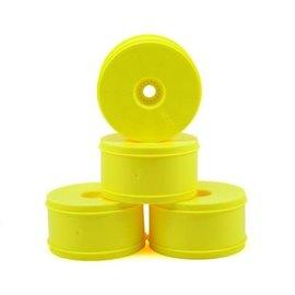 "J Concepts JCO3369Y  Bullet 4.0"" Standard Offset 1/8 Truck Wheels (4) (Yellow)"