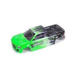 Arrma ARA402305  Green / Black Granite 4X4 BLX Pre-Painted Body