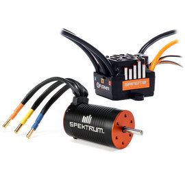 Spektrum SPMXSEMC01  Firma 85A Brushless Smart ESC / 3300Kv Sensorless Motor Combo