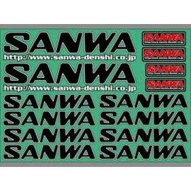 Sanwa SNW107A90531A  Sanwa Decal - Black