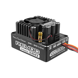 Team Corally COR53004-1  Revoc Pro 160A Black Edition Racing Factory 2-6S ESC