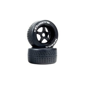 Arrma ARA550073  Felony 1/7 dBoots Hoons 53/107 2.9 White Belted 5-Spoke Wheels 17mm Hex (2)