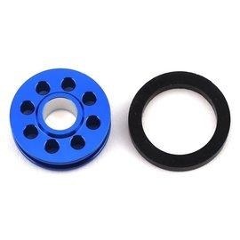 Drag Race Concepts DRC-1089-0002  Blue Aluminum Wheelie Bar Wheel DR10 Slash