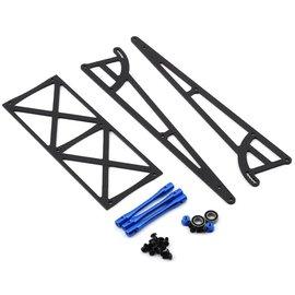 Drag Race Concepts DRC-342-0002  Blue Drag Pak Wheelie Bar w/Bearing Wheels Slash Bandit