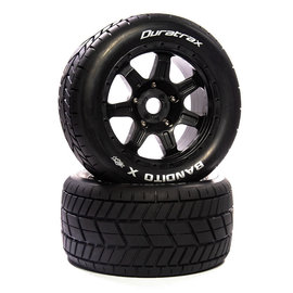 Duratrax DTXC5585  Bandito X Belted Mounted Black 24mm Kraton 8S (2)
