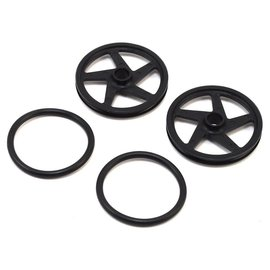 RJ Speed RJS2502  RJ Speed O-Ring Wheels 2 (Black) (2)