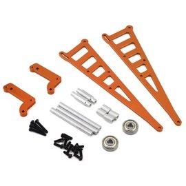 STRC SPTSTC71071O  Orange DR10 Aluminum Wheelie Bar Kit