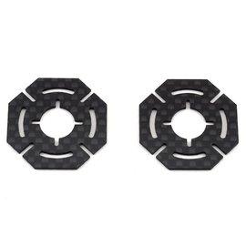 BRO-TBR-CFSPTLR22  TLR 22 5.0 Carbon Fiber Slipper Pads