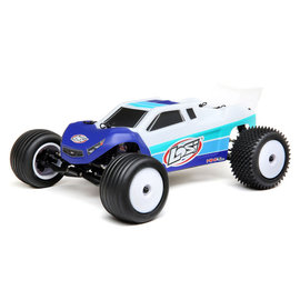 TLR / Team Losi LOS01019T2  Blue / White 1/18 Mini-T 2.0 2WD Stadium Truck Brushless RTR
