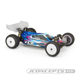 J Concepts JCO0284  P2 - TLR 22 5.0 Elite Body w/ S-Type Wing Clear Body