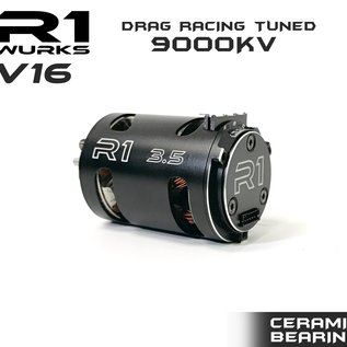 R1wurks 020110-3  R1 3.5T V16 Drag Racing Tuned 9000kv Motor ALL OUT BUILD W/ Double Ceramic Bearing