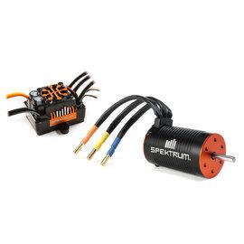 Spektrum SPMXSEMC04  Firma 130A Brushless Smart ESC / 1900Kv Sensorless Motor Combo