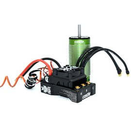 Castle Creations CSE010-0167-02  Mamba XLX 2 1/5 Sensored Brushless ESC/Motor Combo (1100Kv)