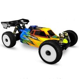 "J Concepts JCO0253  Mugen MBX8/MBX7 ""Silencer"" 1/8 Buggy Body (Clear)"