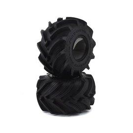 """J Concepts JCO3083-05  Fling Kings Jr 2.2"""" Monster Truck Tire (2) (Gold)"""