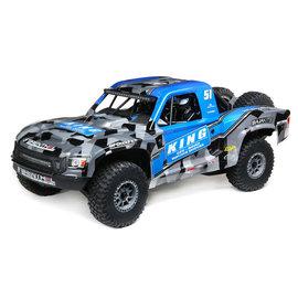 TLR / Team Losi LOS05021T2  Blue DT-King 1/6 Super Baja Rey 2.0 4WD Brushless Desert Truck RTR