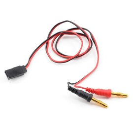 Protek RC PTK-5213  Receiver Charge Lead (Futaba Female to 4mm Banana Plugs)