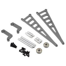 STRC SPTSTC71071GM  Gun Metal DR10 Aluminum Wheelie Bar Kit