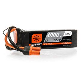 Spektrum SPMX40006S50  Spektrum 6S 22.2v 4000mAh 50C LiPo w/ IC5 Plug