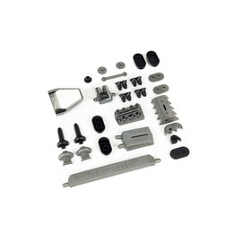 Arrma ARA480040  1/7 Scale Body Accessories, Set A Turbo-Charger, Super-Charger, Air Intake, Intercooler and Exhaust Parts