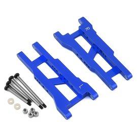 STRC SPTST3655XB  Blue Aluminum Rear Suspension Arms w/Locknut Hinge Pins (2)