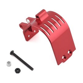 Drag Race Concepts DRC-410-0001  Red DR10 Aluminum Motor Guard