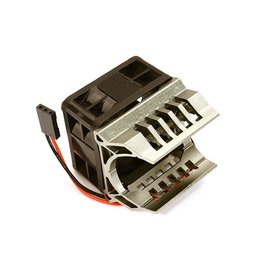Integy C28595GREY  Grey Motor Heatsink 40x40x10mm Cooling Fan for 1/16 ERevo & Slash VXL