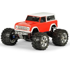 Proline Racing PRO3313-60  1973 Ford Bronco Clear Body: 1/10 Rock Crawler