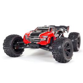Arrma ARA8608V5T1  Red Kraton V5 6S 4wd BLX 1/8 Monster Truck