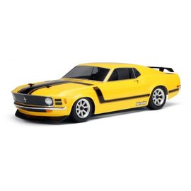 HPI HPI17546  1970 Ford Mustang Boss 302 200mm Clear Body